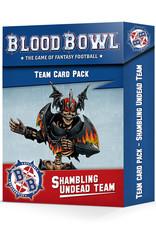 Games-Workshop Blood Bowl: Shambling Undead Card Pack