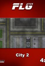 Frontline-Gaming FLG Mats: City 2 4x8'