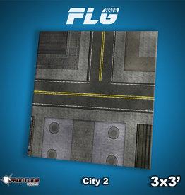 Frontline-Gaming FLG Mats: City 2 3x3'