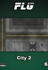 Frontline-Gaming FLG Mats: City 2 6x3'