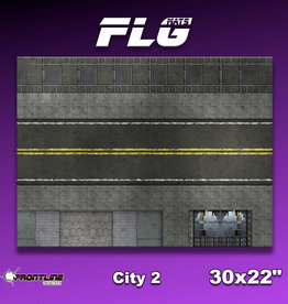 "Frontline-Gaming FLG Mats: City 2 30"" x 22"""