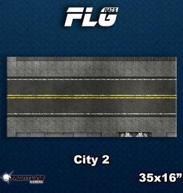 Frontline-Gaming FLG Mats: City 2 Desk Mat