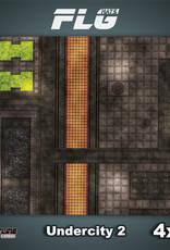 Frontline-Gaming FLG Mats: Undercity 2 4x4'