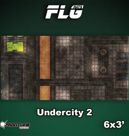 Frontline-Gaming FLG Mats: Undercity 2 6x3'