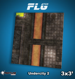 Frontline-Gaming FLG Mats: Undercity 2 3x3'
