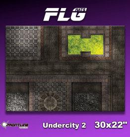 "Frontline-Gaming FLG Mats: Undercity 2 30"" x 22"""