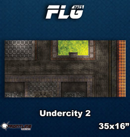 Frontline-Gaming FLG Mats: Undercity 2 Desk Mat