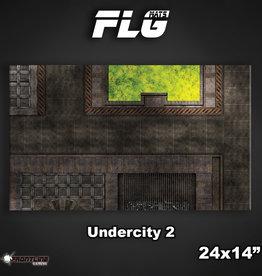 "Frontline-Gaming FLG Mats: Undercity 2 24"" x 14"""