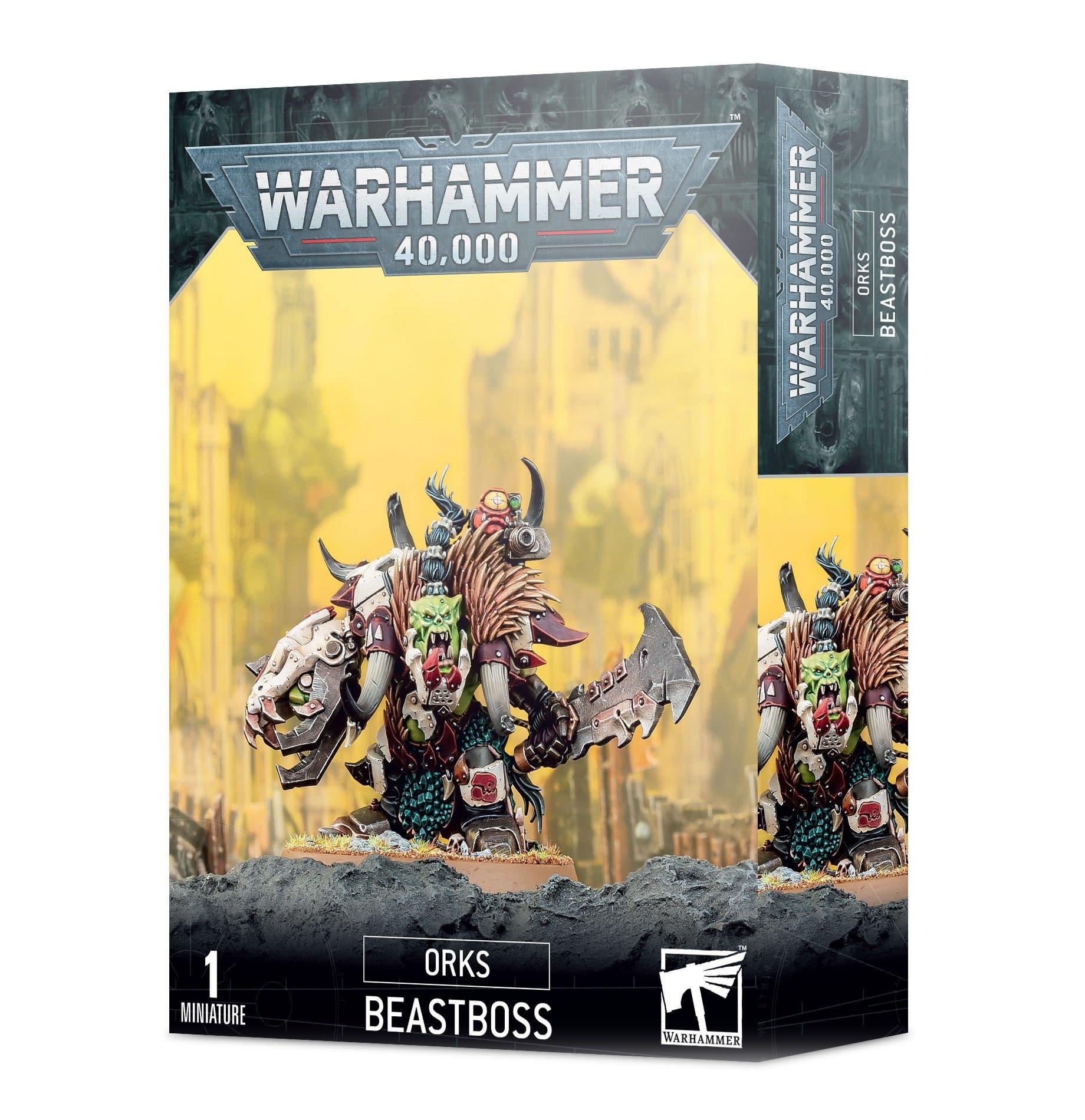 Games-Workshop Ork Beastboss