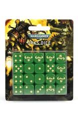 Games-Workshop Orks Dice Set