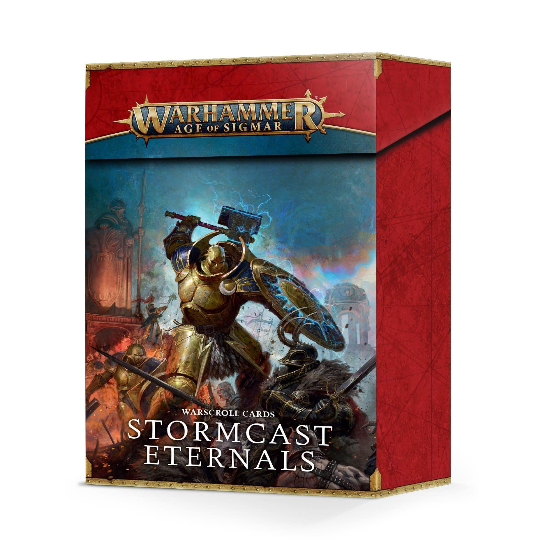 Games-Workshop Stormcast Eternals Warscroll Cards