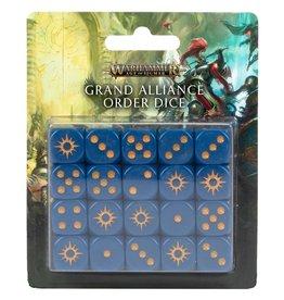 Games-Workshop Grand Alliance Order Dice Set