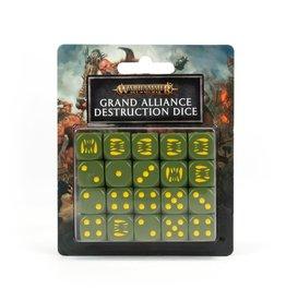 Games-Workshop Grand Alliance Destruction Dice Set