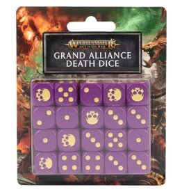 Games-Workshop Grand Alliance Death Dice Set