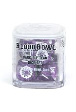 Games-Workshop Blood Bowl: Dark Elf Team Dice Set