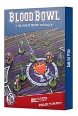 Games-Workshop Blood Bowl: Dark Elf Team Pitch & Dugouts