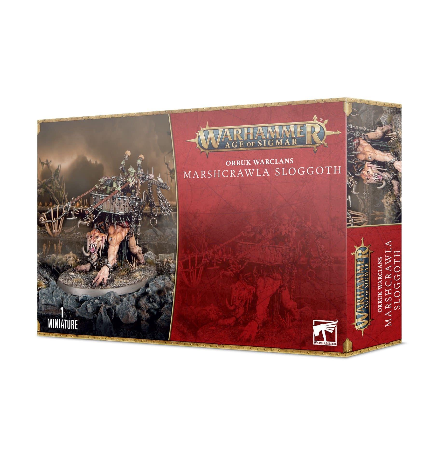 Games-Workshop Orruk Warclans Marshcrawla Sloggoth