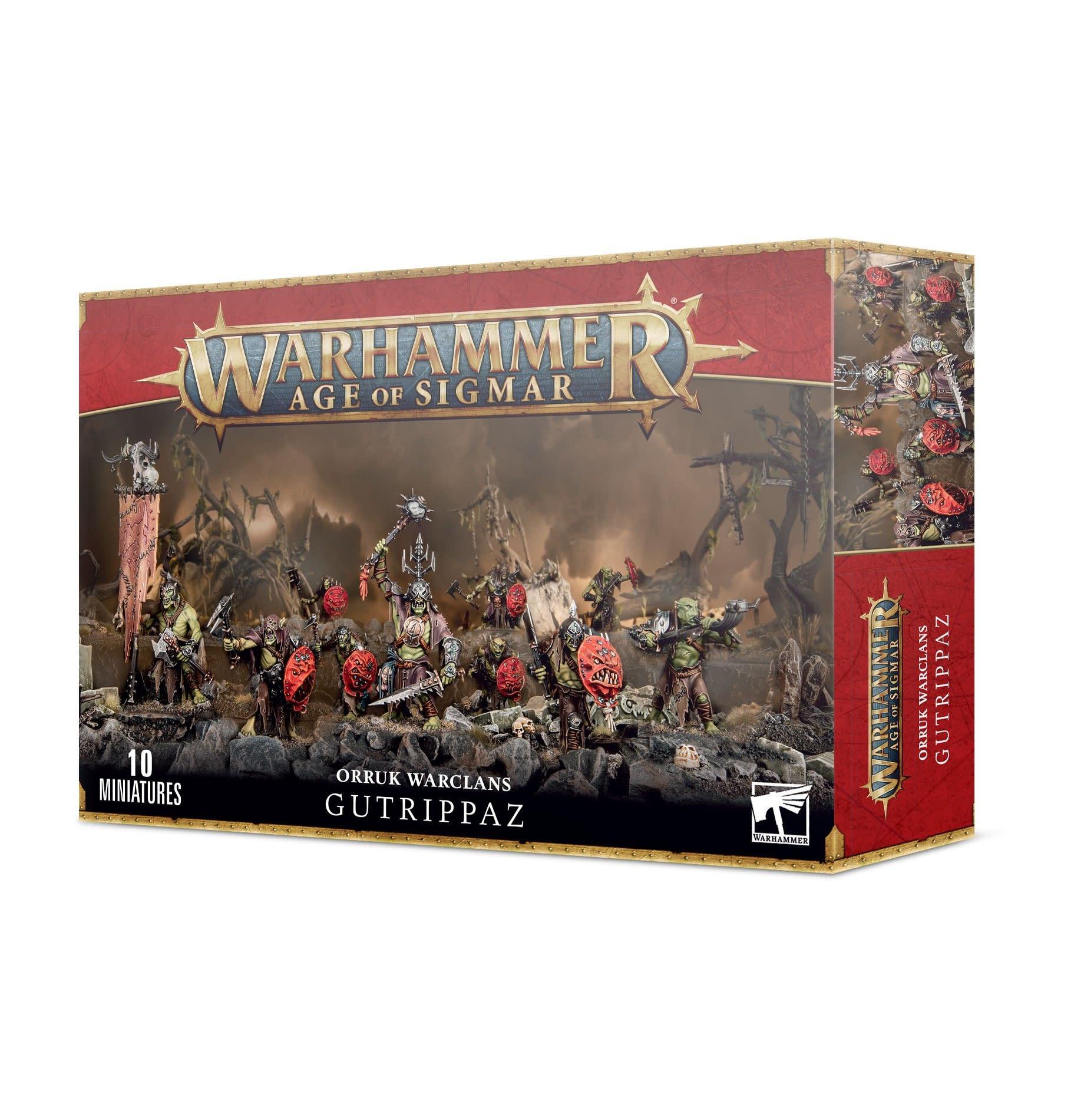 Games-Workshop Orruk Warclans Gutrippaz