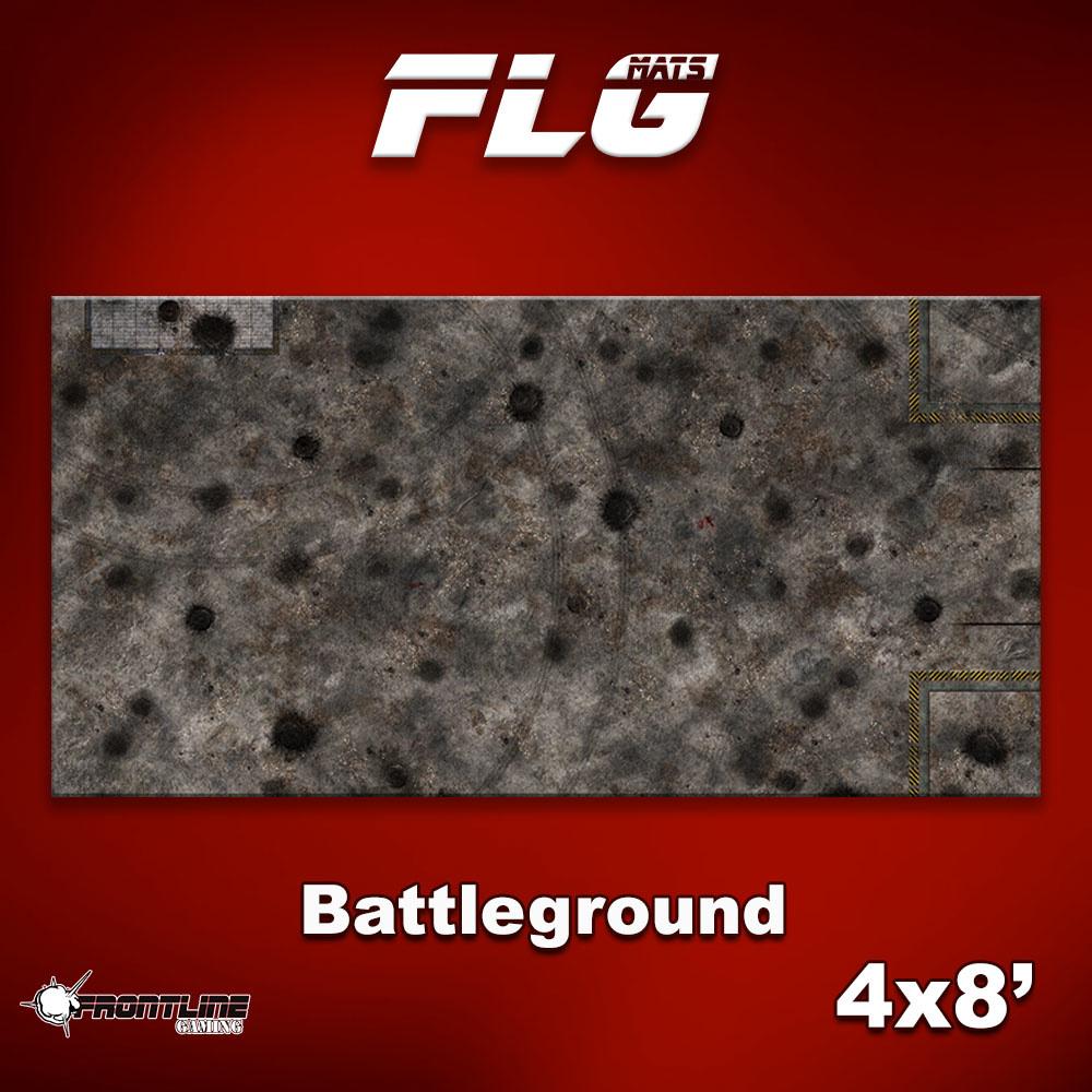Frontline-Gaming FLG Mats: Battleground 4x8'
