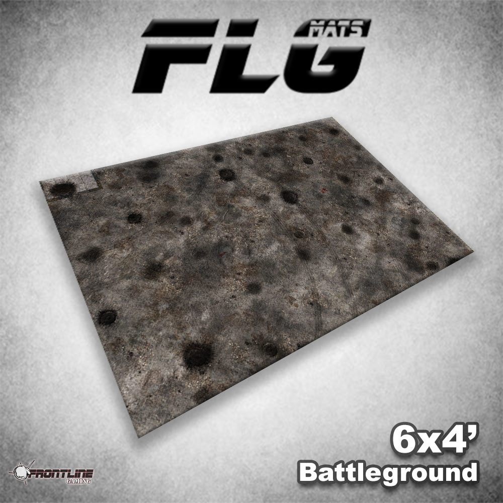 Frontline-Gaming FLG Mats: Battleground 6x4'
