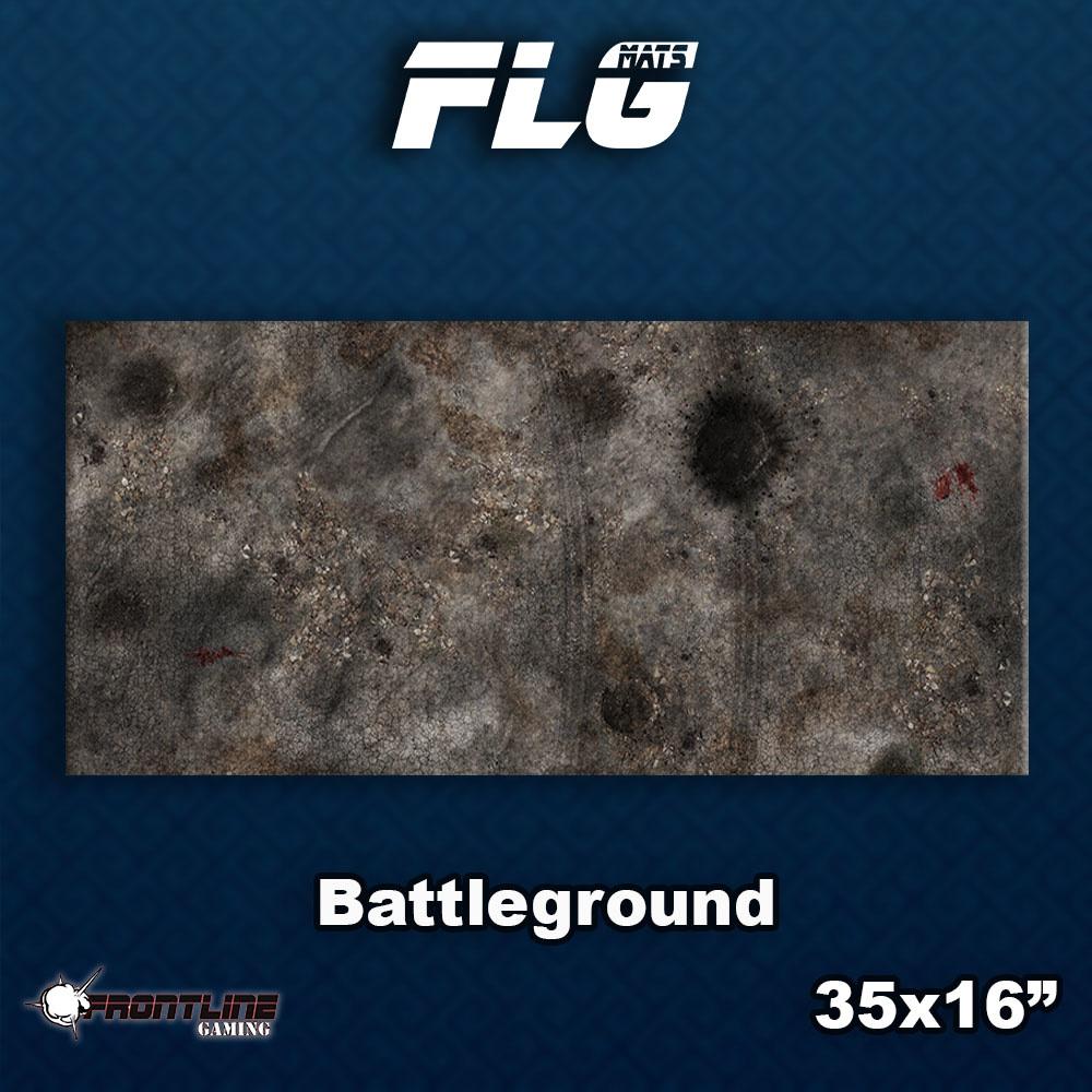 Frontline-Gaming FLG Mats: Battleground Desk Mat