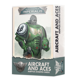 Games-Workshop Adeptus Astartes Aircraft & Aces Card Pack