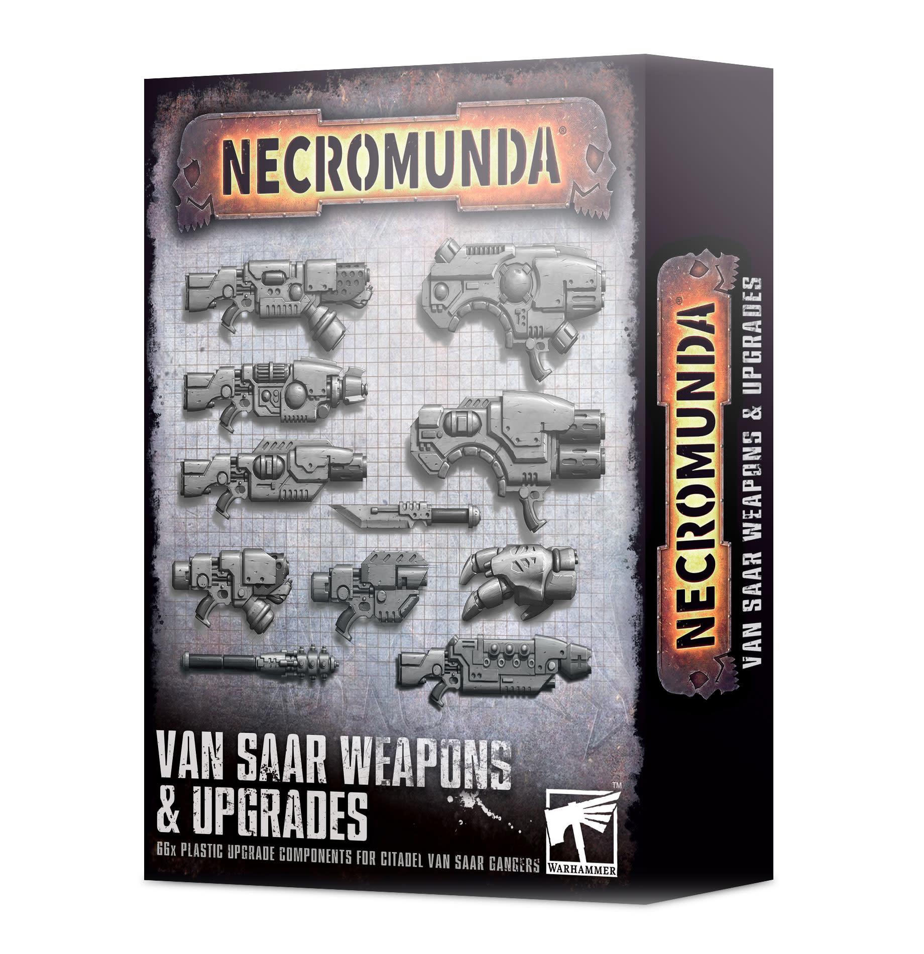 Games-Workshop Necromunda: Van Saar Weapons and Upgrades