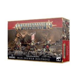 Games-Workshop Orruk Warclans Man Skewer Boltboyz