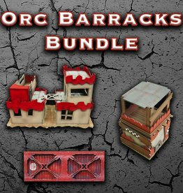 Frontline-Gaming ITC Terrain Series: Orc Barracks Bundle