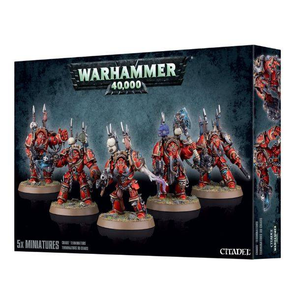 Games Workshop Chaos Space Marines Terminators