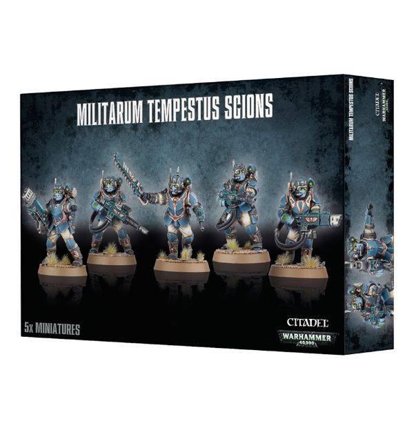 Games Workshop Militarum Tempestus Scions