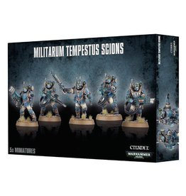 Games Workshop Militarum Tempestus Scions Command Squad
