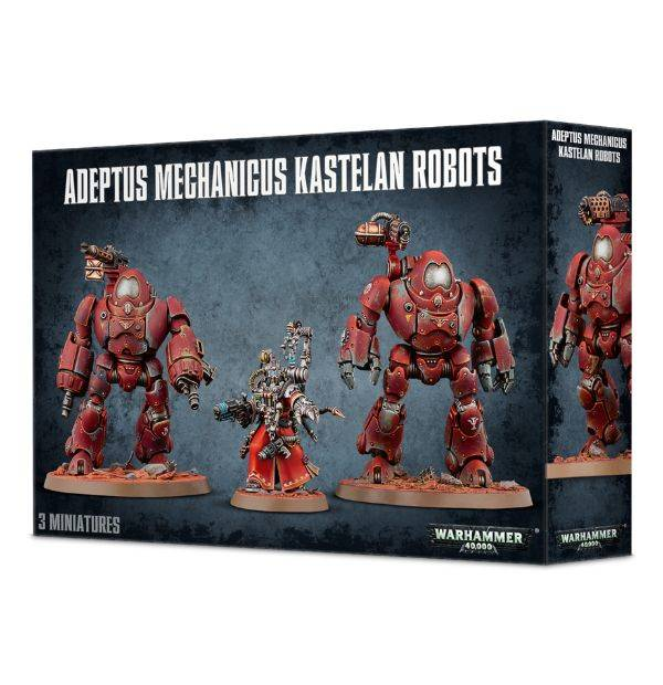 Games Workshop Kastelan Robots