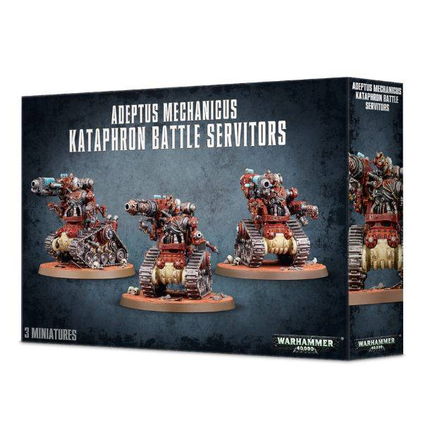 Games Workshop Adeptus Mechanicus Kataphron Battle Servitors - Breachers