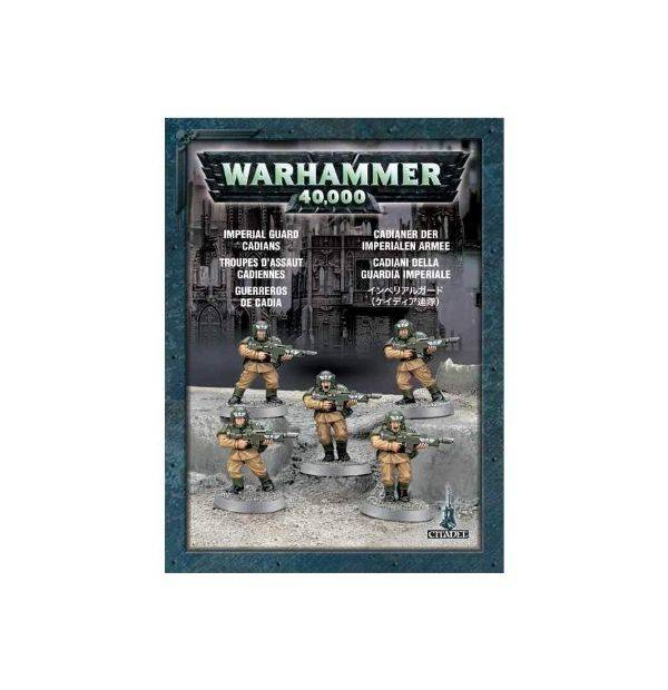 Games Workshop Cadians (5 models)