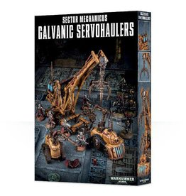 Games Workshop Sector Mechanicus Galvanic Servohaulers
