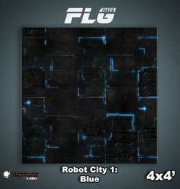 Frontline Gaming FLG Mats: Robot City 1 4x4'