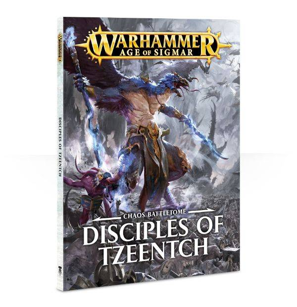 Games Workshop Battletome: Disciples of Tzeentch (Softback)