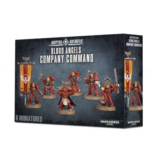 Games Workshop Blood Angels Command Squad