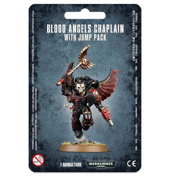 Games Workshop Blood Angels  Chaplain With Jump Pack