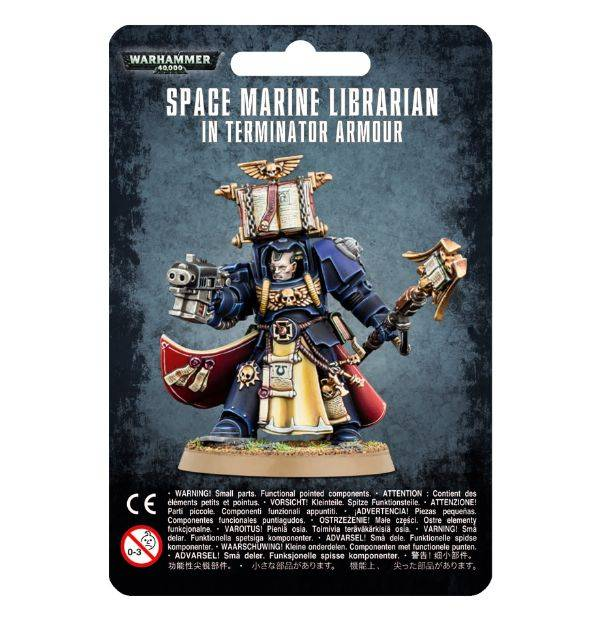 Games Workshop Space Marine Librarian in Terminator Armour