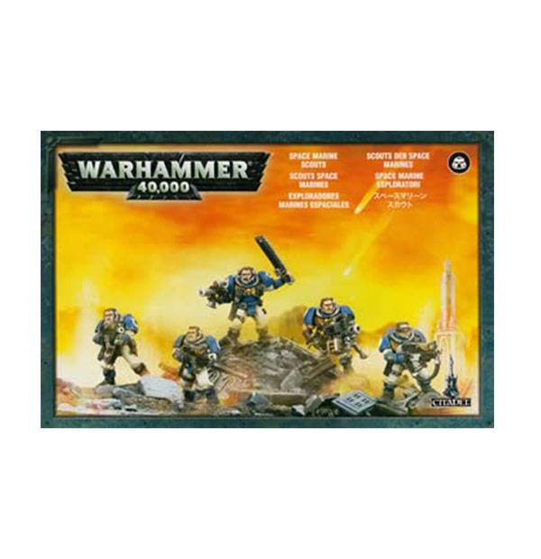 Games Workshop Space Marine Scouts