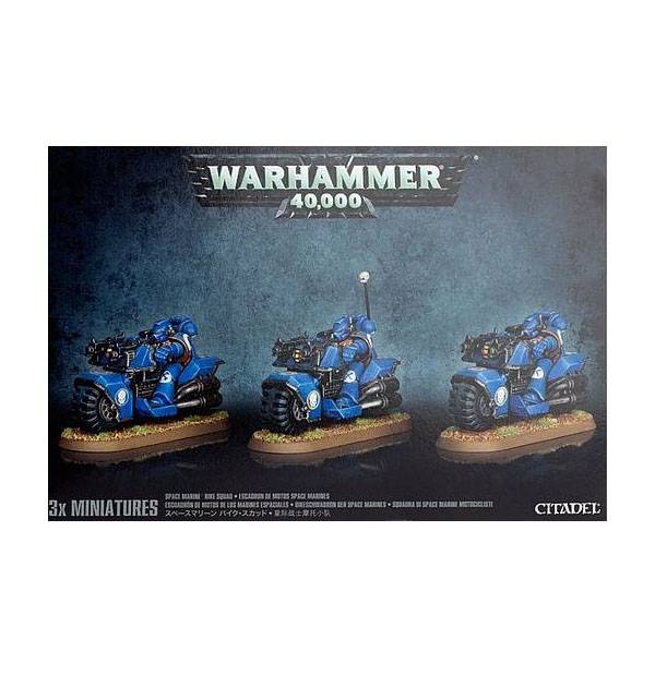 Games Workshop Space Marine Bike Squad