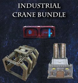 Frontline-Gaming ITC Terrain Series: Industrial Crane Bundle