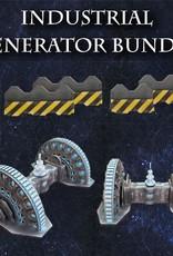 Frontline-Gaming ITC Terrain Series: Industrial Generator Bundle