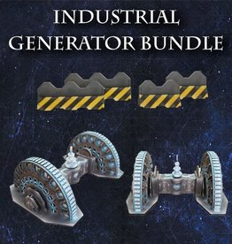 Frontline-Gaming ITC Terrain Series: Industrial Generator Bundle