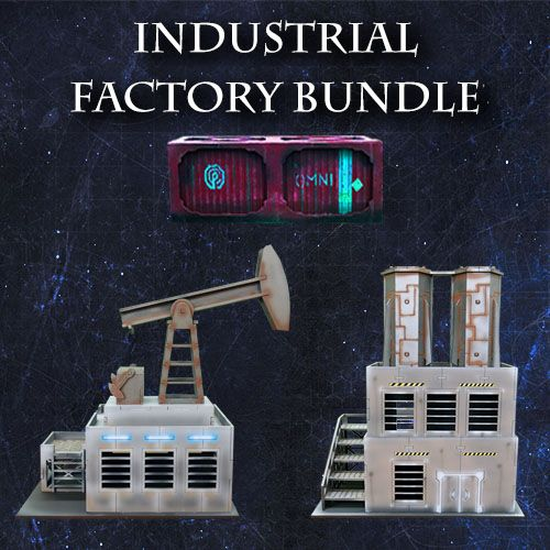 Frontline-Gaming ITC Terrain Series: Industrial Factory Bundle