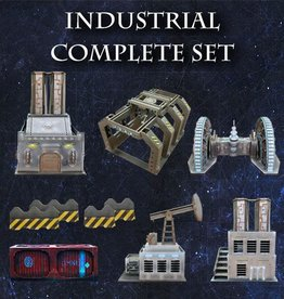 Frontline-Gaming ITC Terrain Series: Industrial Complete Set
