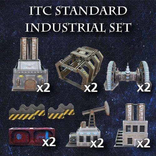 Frontline-Gaming ITC Terrain Series: ITC Standard Industrial Set