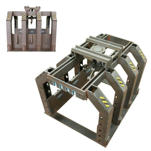 Frontline-Gaming ITC Terrain Series: Industrial Complete Set with Mat